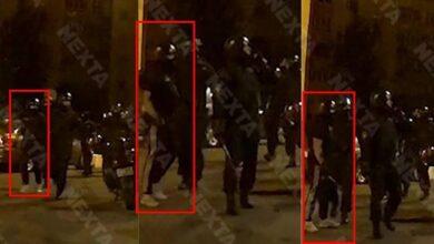 Photo of На відео протестів у Білорусі помітили тітушок