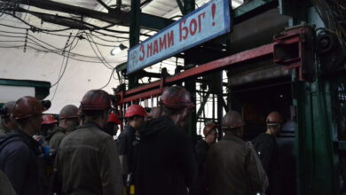 Photo of На шахті «Надія» триває підземна акція протесту. Трьом гірникам стало погано