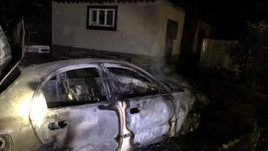 Photo of На Стрийщині вщент згорів Daewoo Lanos
