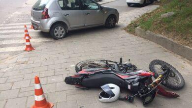 Photo of На вулиці Стуса під час ДТП постраждав 34-річний мотоцикліст
