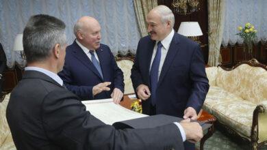 Photo of Карта білоруських губерній у складі Російської імперії. Посол РФ зробив Лукашенку подарунок