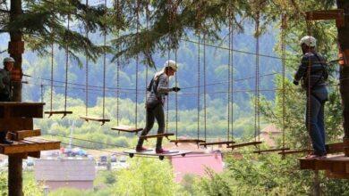 Photo of У парку Борислава облаштують мотузкові траси та кінотеатр просто неба