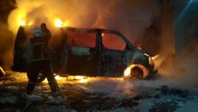 Photo of На Львівщині вщент згоріли дві автівки