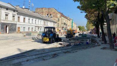 Photo of Ремонт частини вулиці Богдана Хмельницького планують завершити до кінця вересня