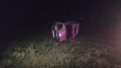 Photo of На Радехівщині п'яний водій на ВАЗі злетів з дороги у поле та перекинувся. Є постраждалі