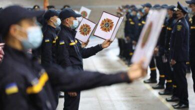 Photo of Курсанти Львівського університету БЖД склали присягу