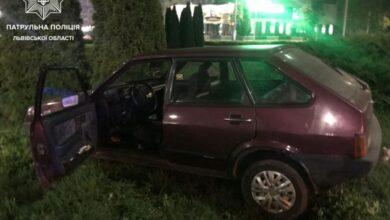 Photo of П'яний водій виїхав на автомобільне кільце на проспекті Чорновола