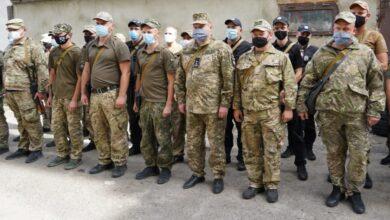 Photo of Бійці зведеного загону правоохоронців Львівщини повернулись із зони ООС