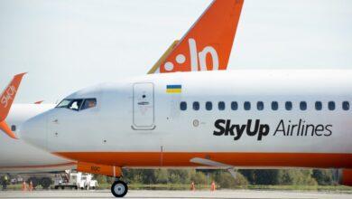 Photo of Авіакомпанія SkyUp відновила рейси зі Львова до Ізраїля