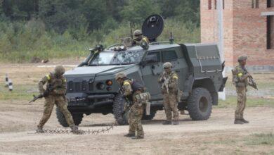 Photo of В Академії сухопутних військ показали, як проходять військові навчання «Репід Трайдент»