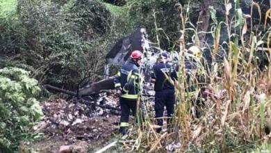 Photo of У Сербії винищувач МіГ-21 впав у двір будинку, є загиблі