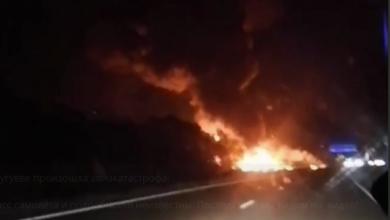 Photo of Під Харковом розбився літак – перші відео