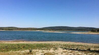 Photo of У Криму зняли обміліле водосховище – основне джерело води для Севастополя