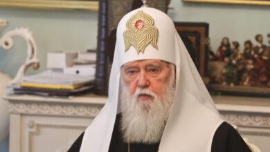 Photo of Патріарх Філарет захворів на COVID-19
