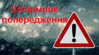 Photo of На Львівщині оголосили штормове попередження