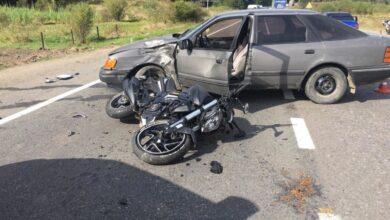 Photo of У Сколе п'яний водій скоїв ДТП, в якій постраждав мотоцикліст