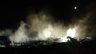 Photo of Перші фото з місця падіння літака під Харковом