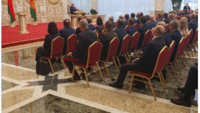 Photo of Лукашенко вступив на посаду президента Білорусі. Інавгурацію провели таємно
