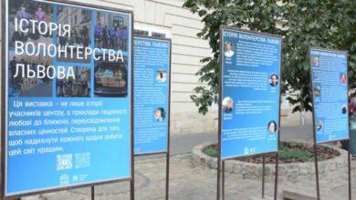 Photo of На площі Ринок відкрили виставку про волонтерство