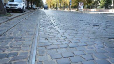 Photo of У мерії розповіли, наскільки вулиця Бандери буде замощена бруківкою
