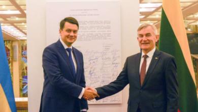 Photo of Спільне майбутнє у ЄС, Білорусь та боротьба за незалежність: візит Разумкова у Литву