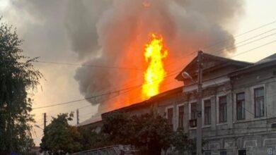 Photo of У житловому будинку Харкова через пожежу загинули дві людини