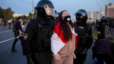 Photo of У Білорусі на акціях протесту після інавгурації Лукашенка затримали 259 осіб