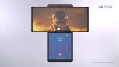 Photo of Складається буквою Т: LG показала новий Wing з двома екранами