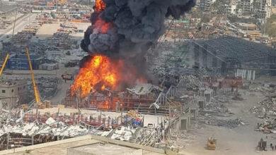 Photo of В порту Бейрута спалахнула пожежа: горить склад нафти та шин