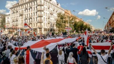Photo of Понад 45% українців підтримують білоруські протести