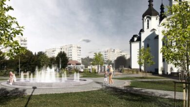 Photo of Біля церкви на Пасічній зведуть фонтан. Візуалізація