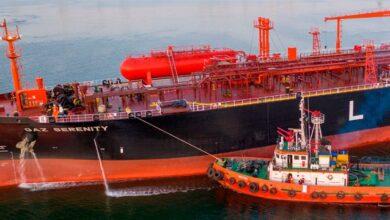 Photo of У порту Южний танкери з аміаком супроводжують непридатні для такої роботи буксири