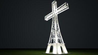 Photo of У Карпатах на вершині гори встановлять 25-метровий хрест з підсвіткою