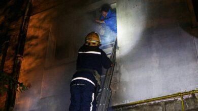 Photo of У Києві горіла п'ятиповерхівка: мешканців спускали з вікон, є загибла