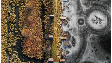 Photo of «Вікі любить Землю»: знімок над заповідником «Розточчя» визнали найкращим фото Львівщини