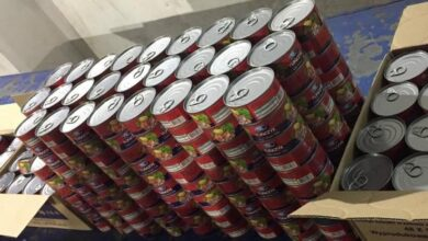Photo of На Львівщину намагалися незаконно провезти понад 400 банок польських рибних консервів