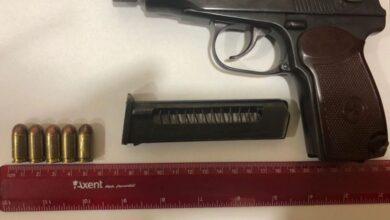 Photo of У центрі Львова затримали 29-річного іноземця з пістолетом