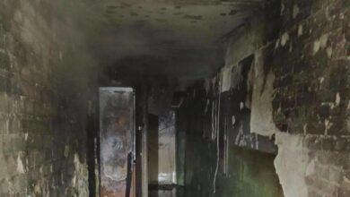 Photo of Через пожежу в будинку на Рясному до лікарні потрапило двоє немовлят