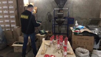 Photo of Фальсифікована кава, соуси та солодощі. На Львівщині викрили масштабне виробництво контрафакту