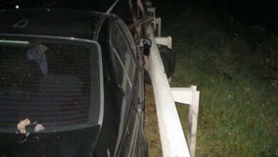 Photo of На Золочівщині зіткнулися BMW та віз з кіньми: постраждало троє людей