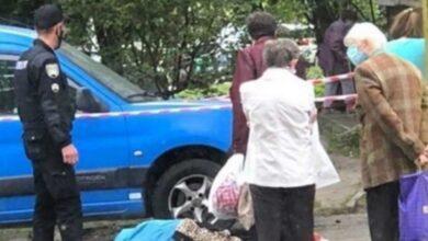 Photo of Із дев'ятого поверху на вулиці Коновальця впала 88-річна бабуся