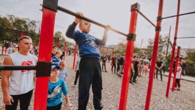 Photo of Найбільший на Західній Україні майданчик для вуличних тренувань з'явився у Бориславі