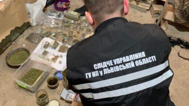 Photo of У наркозакладника зі Львова виявили 2 кг марихуани