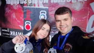 Photo of Гирьовики зі Львівщини вибороли 5 золотих медалей на чемпіонаті Європи
