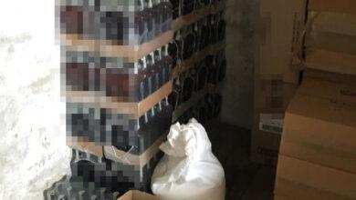 Photo of Поліцейські на Львівщині викрили масштабну партію контрафактного алкоголю та сигарет