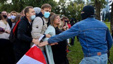 Photo of Протести в Білорусі поновили, розпочалися перші затримання