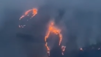 Photo of Уламки розлітаються на 20 км – показали відео пожежі під Рязанню