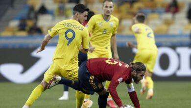 Photo of Україна обіграла Іспанію у Києві завдяки голу Циганкова