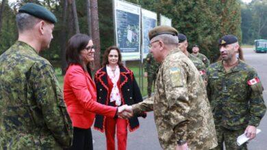 Photo of На Львівщині відбулась ротація канадської тренувальної місії UNIFIER
