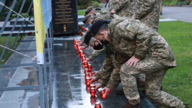 Photo of У Академії сухопутних військ вшанували полеглих воїнів-захисників